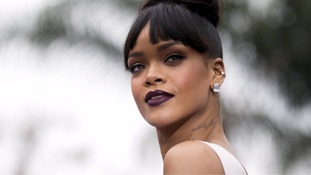Rihanna's reps say there was a risk she could ruin her vocal chords.
