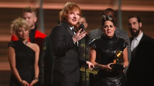Ed Sheeran & Amy Wadge