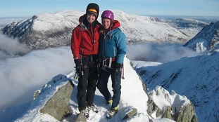 A search is under way forRachel Slater and Tim Newton who are missing on Ben Nevis