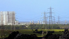 Heysham power plant in Lancashire