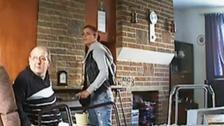 Moment carer steals cash from elderly man
