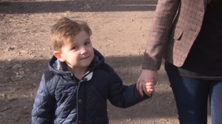 This 4-year-old boy from Torquay treated his mum on Valentine's Day because he didn't want her to be lonely.