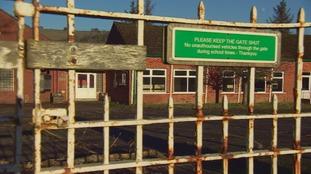 School gates shut