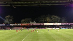 York City out of the relegation zone after win against Exeter