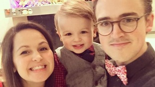 McBusted's Tom Fletcher welcomes second son Buddy Bob