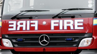 Firefighters rushed to hospital as two fire engines crash on emergency call