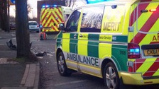 Library photo from West Midlands Ambulance Service