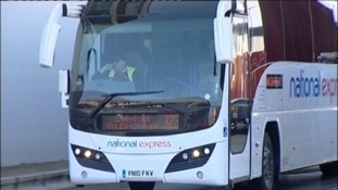 National Express bus