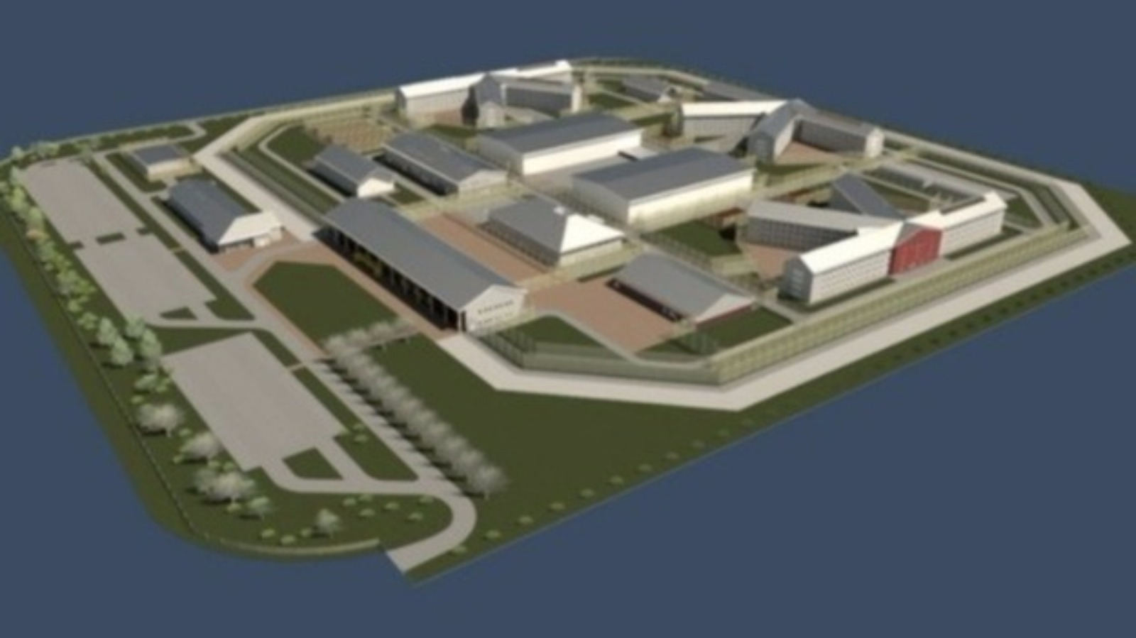 Wrexham super-prison to be named HMP Berwyn | Wales - ITV News