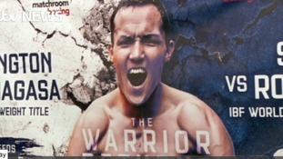 Josh 'the warrior' Warrington