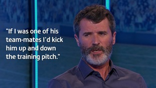Roy Keane labels Chelsea winger Eden Hazard 'a spoilt child' and says he would 'kick him' if they were team-mates