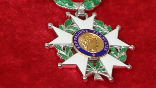 The Legion d'Honneur medal