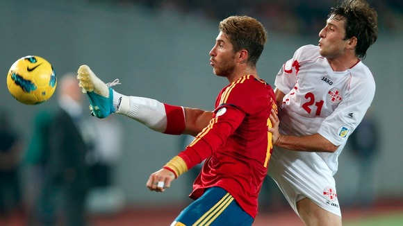 Spain vs Georgia: Watch a live stream of La Rojas final 2014 World Cup qualifier [15/10/2013]