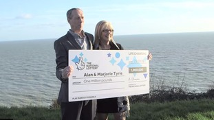 Lottery winner who thought she had won £1,000 finds out it was £1,000,000