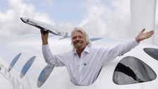 Sir Richard's dreams of taking passengers to space is a step closer