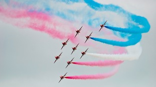 The airshow at Waddington was scrapped last year
