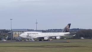 Iron Maiden's personalised jumbo jet