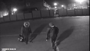 Thieves caught on camera