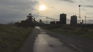 Site of the former SSI steelworks in Redcar.
