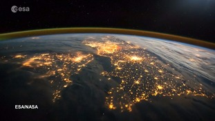 Views of the UK and Europe from space