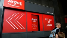 Argos are currently owned by the Home Retail Group.