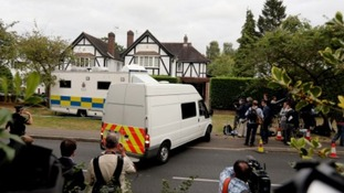 Alps killings: French officials come to UK