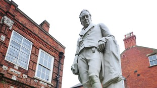 The William Wilberforce statue in Hull