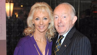 Paul Daniels with his wife Debbie McGee