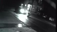 CCTV footage captures the moment a man is repeatedly run over following a confrontation