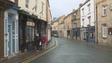Independent shops in the town