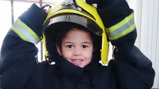 London Fire Brigade backs donor appeal for firefighter's son who has cancer