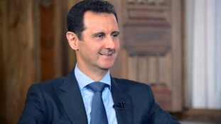 Syrian President claims he is 'ready to stop military operations'