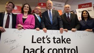 'Leave' EU campaign members
