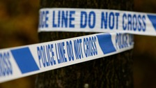 Gang crime police investigate after teenager is shot.
