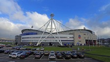 Bolton Wanderers' Macron Stadium