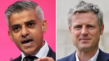 Mayoral candidates new battle in the debate over Europe.