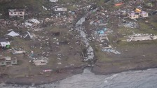 A village battered by the cyclone