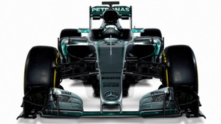 The car will be tested in Barcelona for the first time today.