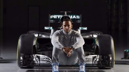 Lewis Hamilton's Mercedes unveil new F1 car