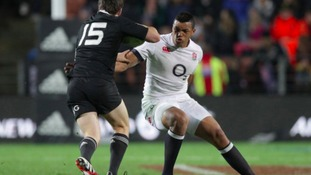 Luther Burrell is back in the England squad.