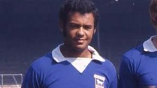 Ipswich Town star Johnny Miller who has died at the age of 65