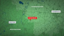 A nine year old boy has died after a crash in Cambridgeshire