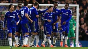 Eden Hazard earns Hiddink praise after finally breaking Stamford Bridge duck