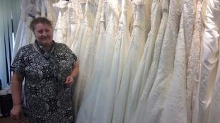 Sylvia Robinson who owns 'brides and maids'