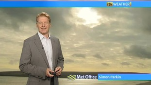 Wednesday's weather with Simon