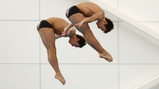 Daley and his new synchro partner Goodfellow picked up an impressive bronze medal.