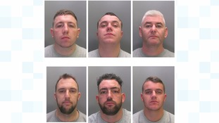 Six gang members sentenced for stealing a cash machine