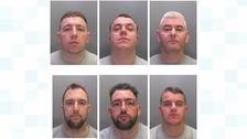 Six gang members sentenced for stealing a cash machine