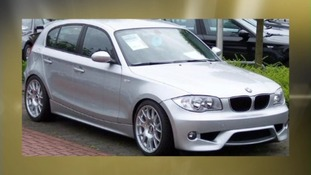 Silver BMW series One