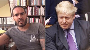 Russell Brand: 'Boris Johnson grows Jihadi Johns - he is a Jihadi John machine'